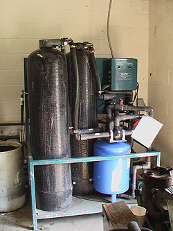 Modify existing water recycle system for industrial client