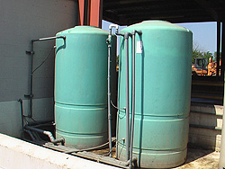 Troubleshoot existing containment system of washwater recycle unit