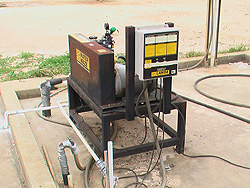 Repair and upgrade a heavy equipment pressure washing and water reuse system