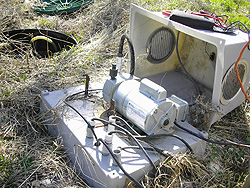 Troubleshooting aerobic treatment unit aeration equipment